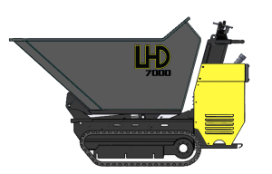 LHD 7000s Concrete Buggy with side dump